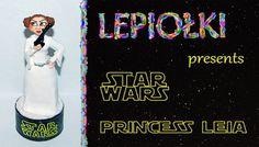 Polymer clay Tutorial : Princess Leia made hand, star wars, gwiezdne wojny, księżniczka leja, figurka, sculpting, modelina,