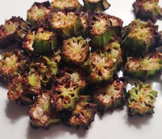What's Cooking With Melissa?: Oven-Baked Okra Chips