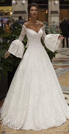 0dac842dd68 Tarik Ediz Wedding Dresses 2019. Gown WeddingDrop Waist ...