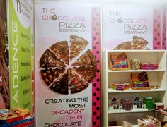 On Trend Marketing specialises in customised promotional gifts, such as mints in tins, magnets and desk items such as mousepads and deskpads. Chocolate Pizza, Pizza Company, Marketing Materials, Design Templates, Packaging Design, Basket, Create, Fun, Recipes