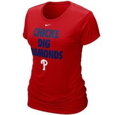 Chicks Dig Diamonds... This is sexy. Phillies