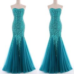 Strapless Mermaid fishtail Evening Wedding Party Prom Gown Formal Cocktail Dress in Clothes, Shoes & Accessories, Women's Clothing, Dresses | eBay