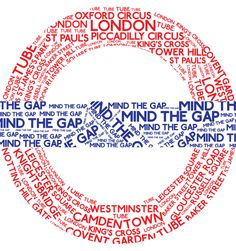 Mind the Gap – Poster Dna Results, Piccadilly Circus, Mind The Gap, London Street, Proud Of Me, My Heritage, Mindfulness, Poster
