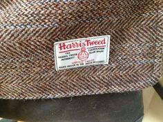 Harris tweed detail