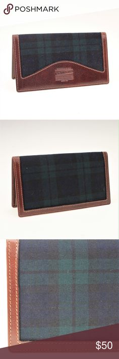 NWOT Pendleton Black Watch Tartan Plaid Wallet Incredibly handsome wallet that is brand new without tags. Made of real leather and Black Watch Tartan Plaid by Pendleton. Has six slots for cards and three slots for bills or receipts. Pendleton Bags Wallets