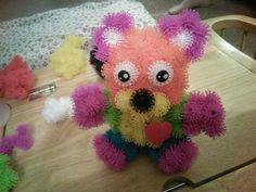 Teddy bear bunchems