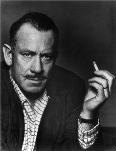 John Steinbeck 1953 photo by Philippe Halsman