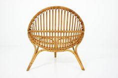 1950s Lounge Chair in the Style of Nanna Ditzel Rana, 1951 image 3