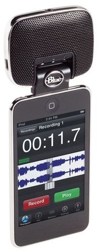 Blue's Mikey: The Big, Nice Microphone For iPods/iPhones...great gift for my bff, she's a singer!
