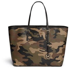 Michael Michael Kors 'Jet Set Travel' medium saffiano leather tote and other apparel, accessories and trends. Browse and shop 3 related looks.