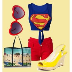 """""""SuperBea(i)ch"""" by reka-azsoth on Polyvore"""