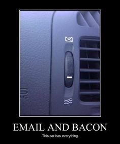 I want this car!!! It will read me my email and dispense bacon while I'm behind the wheel!