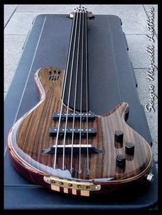 Nigreli Luthier... like the string-through tailplate