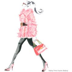 Chic Pink | Pink Fashion | Pink Ink | #pumpsandponytails Love this from Chic Critique Forum!!