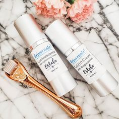 We LOVE this skincare combination! 😍 Our brand new Derma Roller increases the absorption and effectiveness of the creams! 💁🏼♀️ Our lightening cream leaves your skin bright with a gorgeous, radiant glow. 🌟 The COQ10 cream stimulates cell renewal and penetrates dehydrated skin cells. 💦  Try this combination today and get your glow on ❤ Dark Eye Circles, Skin Lightening Cream, Under Eye Puffiness, Under Eye Bags, Derma Roller, Puffy Eyes, Skin Care Remedies, Clean Face, Anti Aging Skin Care