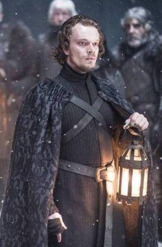 Alfie Allen as Theon Greyjoy - Reek in Game of Thrones