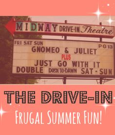The Drive-In: Go before summer's over!