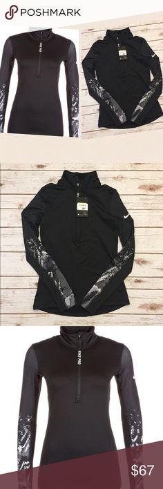 Nike Pro 1/4 Zip Up New with Tag. Nike Tops Sweatshirts & Hoodies