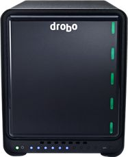 Thunderbolt Drobo makes award-winning data storage products for Small and Medium Businesses and Individual Professionals that provide an unprecedented combination of sophisticated data protection and management features, affordable capacity, and ease-of-use.  http://www.drobo.com/storage-products/5D/