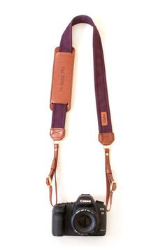 The Classic Merlot Fotostrap Camera Strap - The Classic Collection