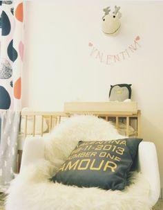 Un coussin Trendy dans la chambre de mon bébé !