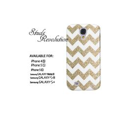 White ands gold Galaxy s4 case Galaxy s3 case Samsung s4 case by StudsRevolution, $14.69