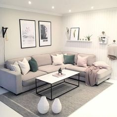 modern living room, country living room, living room furniture, living room decor ideas, small living room on a budget. Small Apartment Living, Small Living Rooms, Home Living Room, Living Room Furniture, Living Room Designs, Living Room Decor, Living Spaces, Modern Living, Small Apartment Furniture
