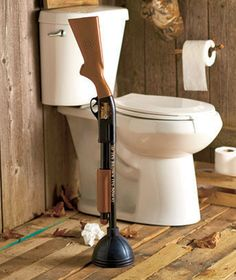 The Redneck Plunger® :: This is for my great cousin Ruth. Trust me, she's not afraid to use it. Hugs cuzz