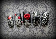 Gothic Nail Art,