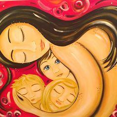 Óleo 80 cm x 1 m  Inspirado en el arte d KMBerggren  #domingo #mamá #pinceladas #pintura #óleo #arte #amor #terapia #pasión #placer #vicio #dependencia