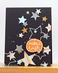 Firework, VersaMark and Embossing Powder