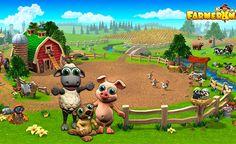 Farmerama.  Uno de los juegos más populares recientes, en los que se puede jugar con sólo conectarse a Internet.