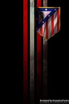 Fondo Atlético de Madrid para Iphone 4 y 5 por segundaspartes - Atlético de Madrid Wallpapers - Fotos del Atlético de Madrid