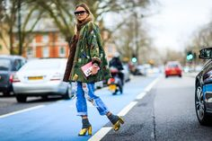Fashion Week de Londres : les plus beaux street looks | Glamour