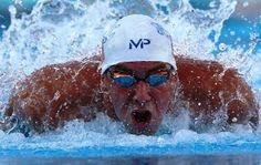 Blog Esportivo do Suíço:  Phelps vence 100m borboleta do GP de Natação; brasileiro leva no 100m peito