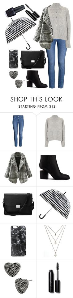 """""""for rainy days."""" by rostovskaya-regina on Polyvore featuring мода, Frame Denim, Relaxfeel, Alexander Wang, Aspinal of London, ShedRain, Casetify, Betsey Johnson, Bobbi Brown Cosmetics и OPI"""
