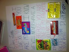Big/little week candy message