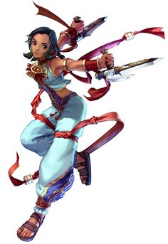Talim from Soul Calibur III. favorite character to play on PS2