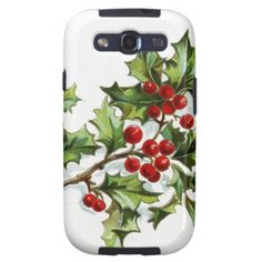 Sold for the second time: #Holly berry 001 #samsung galaxy SIII case #JAMFotoWorms #Zazzle.com