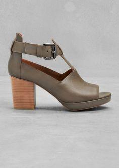 Block heel sandals | Block heel sandals | & Other Stories
