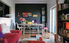 Apartamento pequeno cheio de cor e charme!! Small apartament