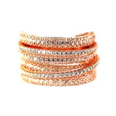 Multi-Row Ring – Andreia Fuzon Jewelry Rose Gold Plated