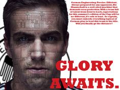 Lahm World Cup 2014: GLORY AWAITS (Group 2) by Bill U, via Behance