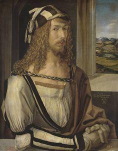 Alberto Durero - Autorretrato (Museo Nacional del Prado)