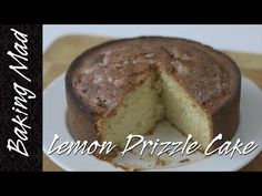 Eric Lanlard's Lemon Drizzle Cake Recipe - YouTube