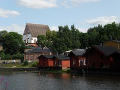 Porvoo Built In Storage, Finland, Cabin, House Styles, Building, Home Decor, Decoration Home, Room Decor, Cabins