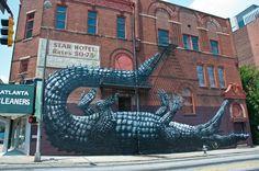 50 Phenomenal Examples of Street Art for 2012  ▶▶ See more at www.creativeguerrillamarketing.com ◀◀ #streetart #art #graffiti