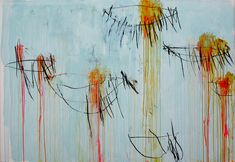 Lepanto, 2001 (panel 2 of 12) . by cy twombly
