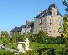 Au Château De Mont-dol, chambres d'hôtes entre Saint Malo et le Mont Saint Michel (Ille et Vilaine - Bretagne, France)