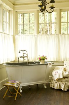Vintage cottage bath